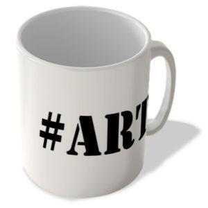 #Art – Hashtag Mug