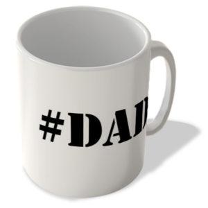 #Dad – Hashtag Mug
