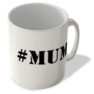 #Mum – Hashtag Mug