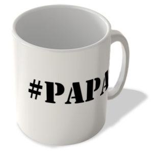 #Papa – Hashtag Mug