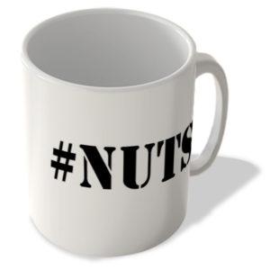 #Nuts – Hashtag Mug