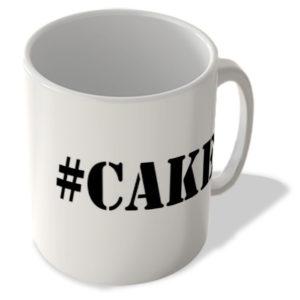 #Cake – Hashtag Mug