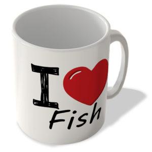 I Love Fish – Mug