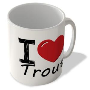 I Love Trout – Mug