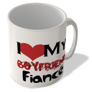 I Love My Boyfriend / Fiance – Mug