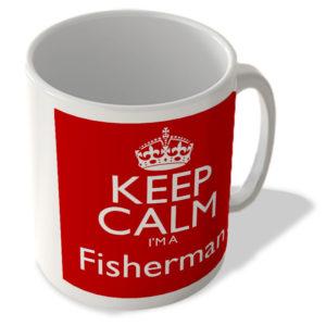 Keep Calm I'm a Fisherman – Mug