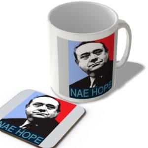 Alex Salmond – Nae Hope – Scottish Mug and Coaster Set