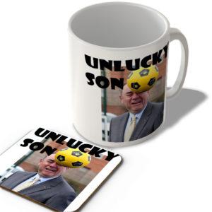 Alex Salmond – Unlucky Son – Scottish Mug and Coaster Set