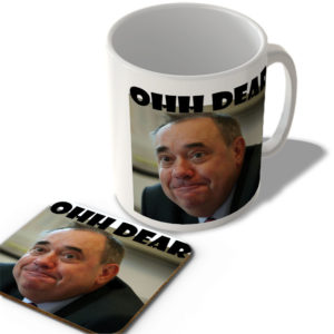 Alex Salmond Ohh Dear – Scottish Mug and Coaster Set