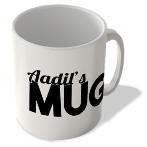Aadil's Mug – Name Mug