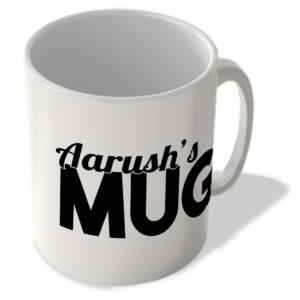 Aarush's Mug – Name Mug