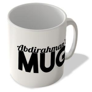 Abdirahman's Mug – Name Mug
