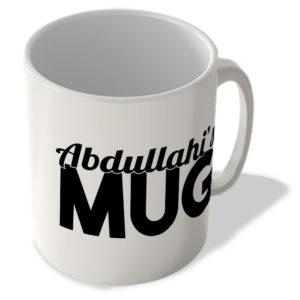 Abdullahi's Mug – Name Mug