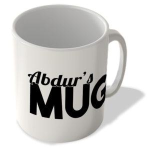 Abdur's Mug – Name Mug