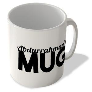 Abdurrahman's Mug – Name Mug