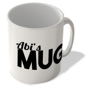 Abi's Mug – Name Mug