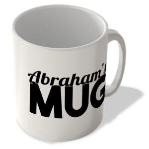 Abraham's Mug – Name Mug