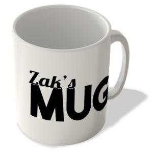 Zak's Mug – Name Mug