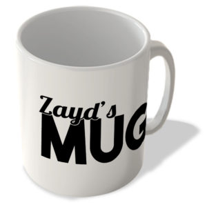 Zayd's Mug – Name Mug