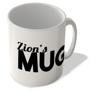 Zion's Mug – Name Mug