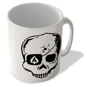 Ace Of Spades Eye Patch Skull – Mug