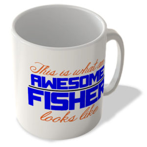 This Is What An Awesome Fisher Looks Like – Mug