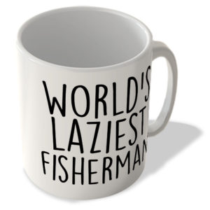 World's Laziest Fisherman – Mug