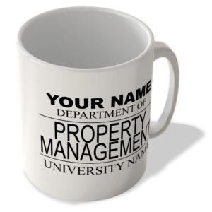 Your Name – Department Of Property Management – University Name – Mug