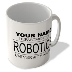 Your Name – Department Of Robotics – Your University Name – Mug