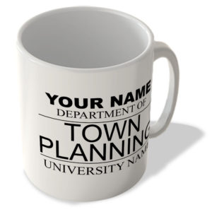 Your Name – Department Of Town Planning – Your University Name – Mug