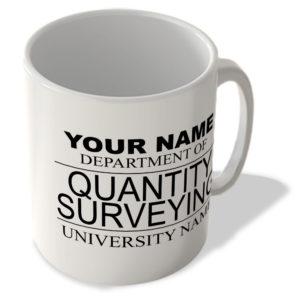 Your Name – Department Of Quantity Surveying – Your University Name – Mug