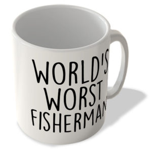 World's Worst Fisherman – Mug