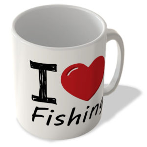 I Love Fishing – Mug