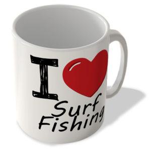 I Love Surf Fishing – Mug