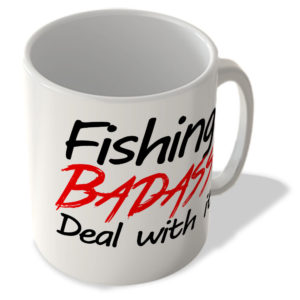 Fishing Badass, Deal With It – Mug