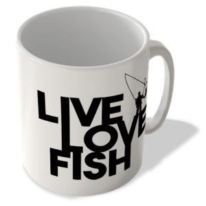 Live Love Fish – Mug
