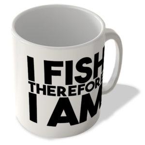 I Fish Therefore I Am – Mug