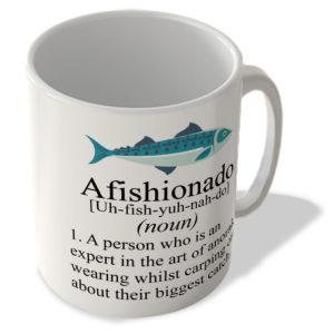 Afishionado Definition – Fishing Mug
