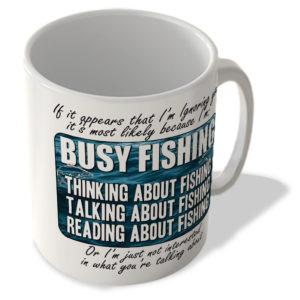 Busy Fishing – Mug