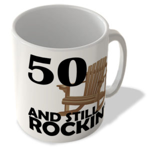 50 And Still Rockin' – Mug