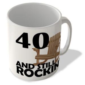 40 And Still Rockin' – Mug