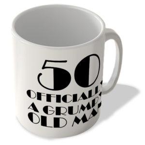 50 Officially A Grumpy Old Man – Mug