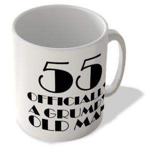 55 Officially A Grumpy Old Man – Mug