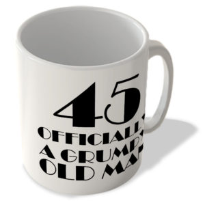 45 Officially A Grumpy Old Man – Mug
