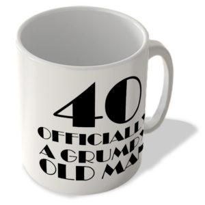 40 Officially A Grumpy Old Man – Mug