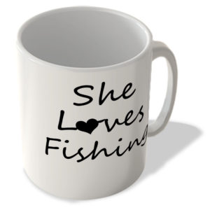 She Loves Fishing – Mug