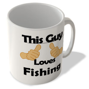 This Guy Loves Fishing – Mug