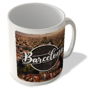 Barcelona Landscape – Spain – Mug