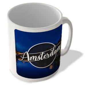 Amsterdam Night Landscape – The Netherlands – Mug