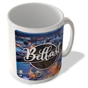 Belfast Night Landscape – Northern Ireland – Mug
